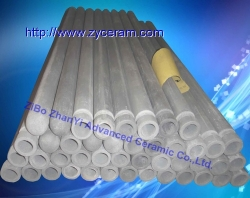 NSiC High Temperature thermocouple protective tubes For Molten AL