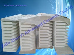 Ceramic Fiber Casting Tips For Traditional Continuous Sheet