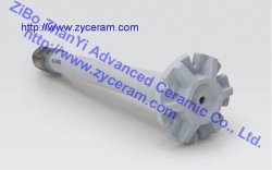Si3N4 Bond SiC Degassing Rotor Shaft
