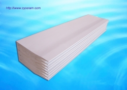 aluminum silicate strip caster tips