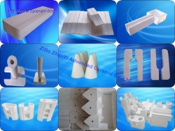 Aluminium Silicate caster tips for casting and rolling aluminium sheets