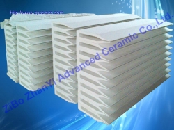 Ceramic Fiber Caster Tips For Continuous Aluminum Trip