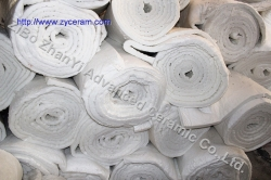 low thermal conductivity ceramic fiber blanket